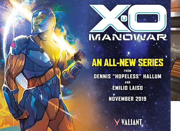 Valiant Launches Doctor Tomorrow in 2020 - Also Harbinger, Ninjak, Shadowman, Punk Mambo, Savage and X-O Manowar #Valiant2020