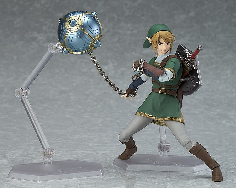 Legend of Zelda Twilight Princess Link figma is Back with Good Smile