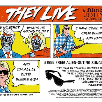 Mondo They Live Poster by Alan Hynes