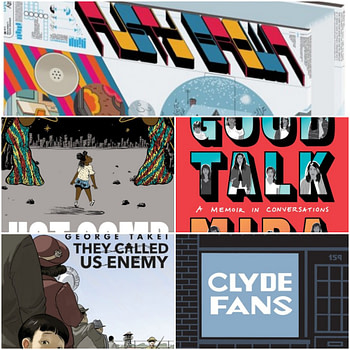 Publisher's Weekly's Top 5 Adult Graphic Novels of 2019