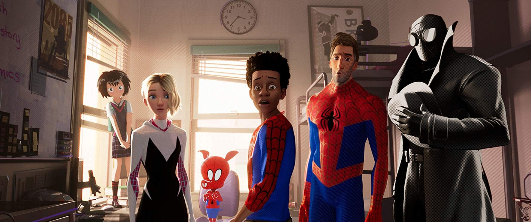 Spider-Man: Into the Spider-Verse – Multiple Stan Lee Cameos and Different Peter Parker's