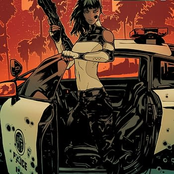 Aphrodite V #1 cover by Jeff Spokes