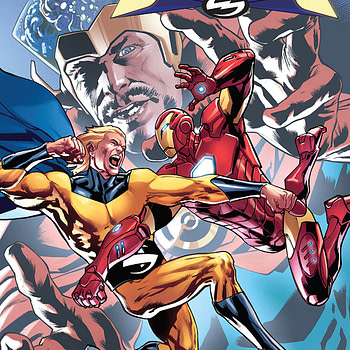 The Sentry #3 cover by Bryan Hitch and Marcio Menyz