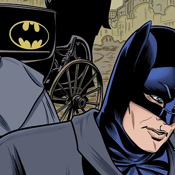 Batman '66 Zoom Background from DC Comics.