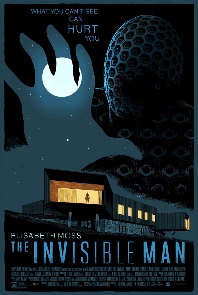 Mondo Dropping New Francesco Francavilla Invisible Man Poster Demain