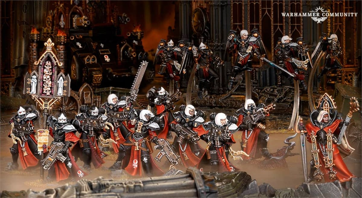 Warhammer 40K: Sisters of Battle in Action