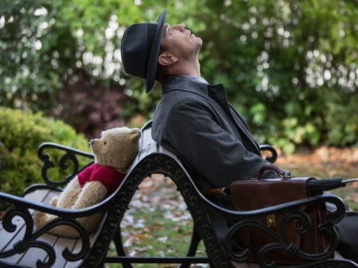 It's Not Stress, It's Pooh in New Trailer for 'Christopher Robin'