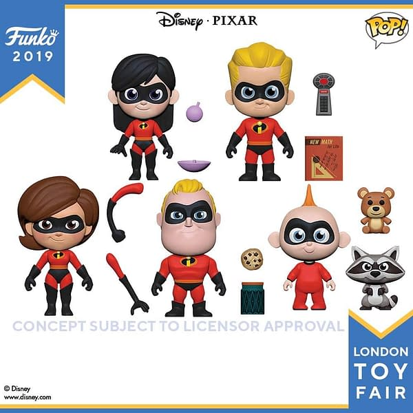 Funko London Toy Fair Incredibles