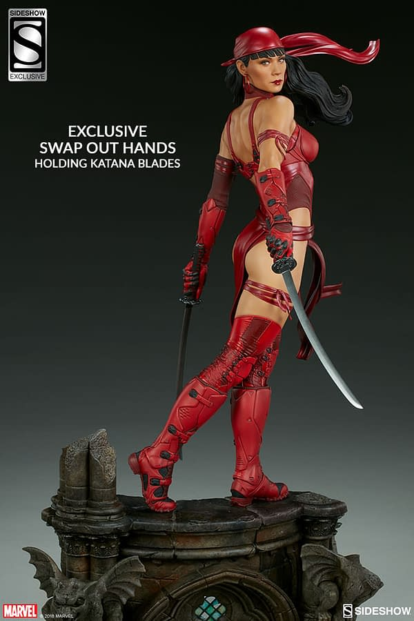 Sideshow Collectible Premium Format Figure Elektra 18