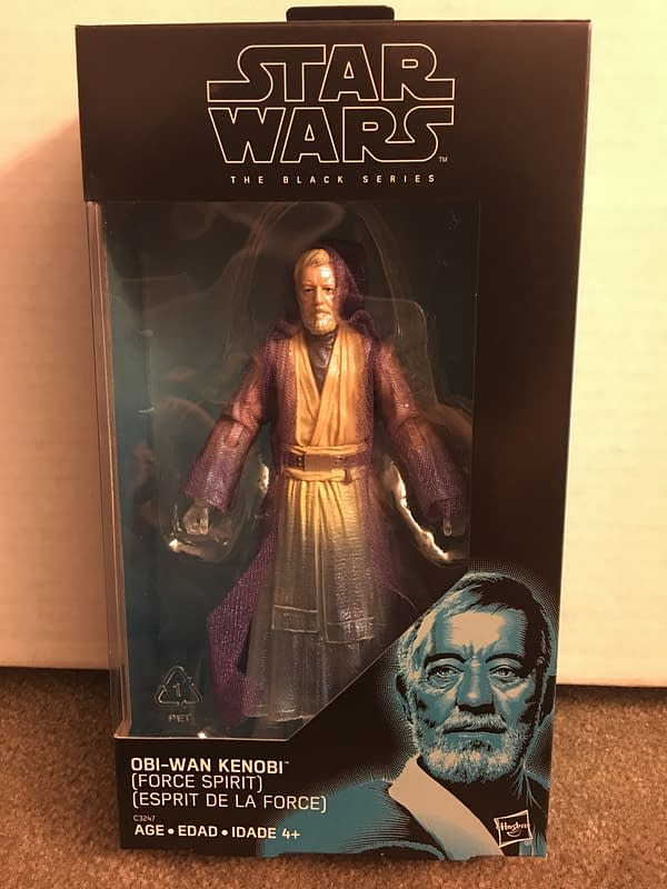 Star Wars Obi-Wan Kenobi Spirit Black Series Figure 1