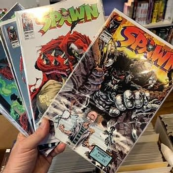 Todd McFarlane's Tony Twist Spawn Evidence Finds a Comic Store