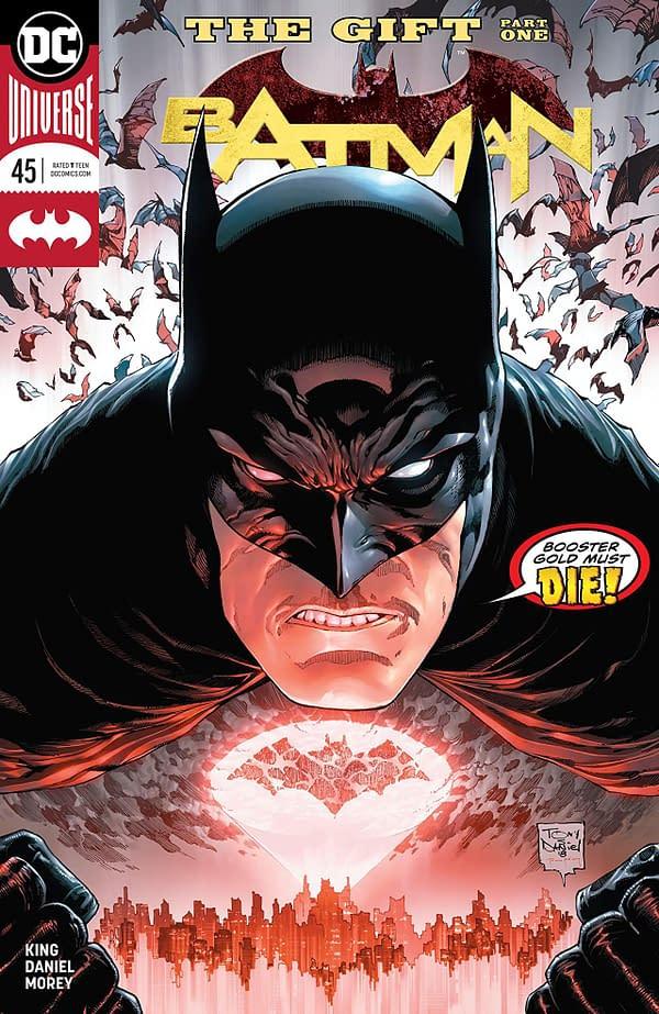 Batman #45 cover by Tony Daniel and Tomeu Morey