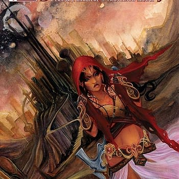 Free On Bleeding Cool &#8211 Dejah Thoris #1 By Fran Barbiere And Francesco Manna