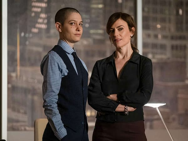 """Here's a look at Billions season 5, episode 4 """"Opportunity Zone"""", courtesy of Showtime."""