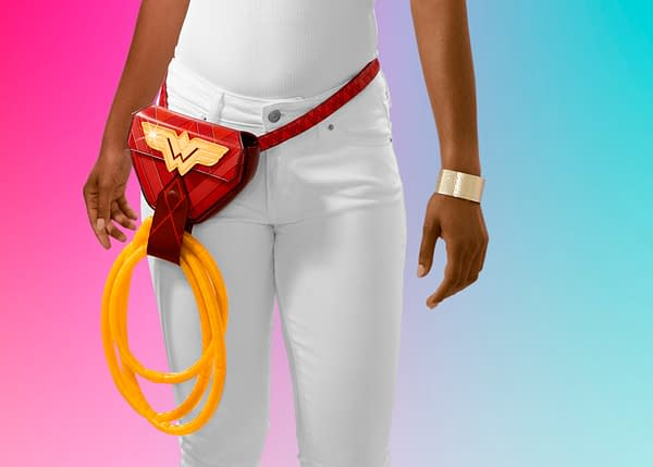 Wonder Woman and SweeTARTS Team Up For Golden Ropes Holder