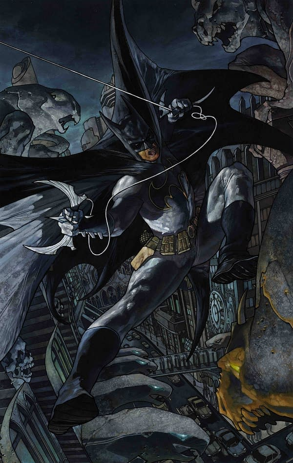 19 Revealed DC Comics Covers for October and November From Jenny Frison, Jim Lee, Bill Sienkiewicz, Frank Cho and More