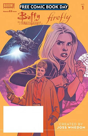 Real Cobver of Buffy/Firefly Free Comic Book Day Title Has a Surprise (SPOILERS)
