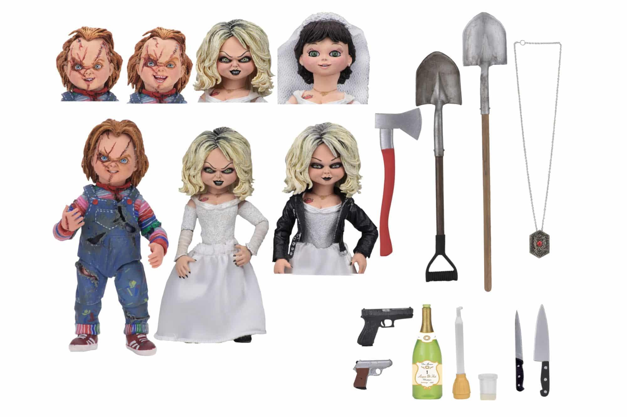 NECA Bride of Chucky Set 8