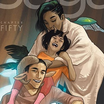 ComiXology Bestseller List: Saga #50 cover by Fiona Staples