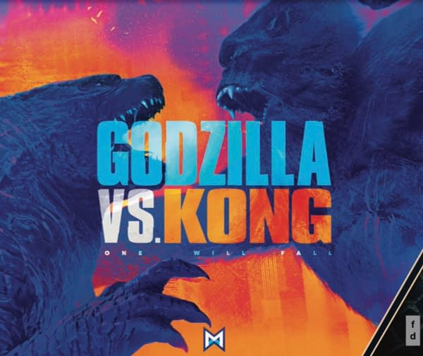 Promo Posters For Godzilla Vs Kong Masters of the Universe and Dune