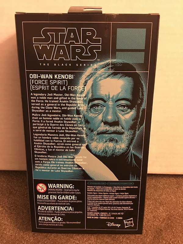 Star Wars Obi-Wan Kenobi Spirit Black Series Figure 3