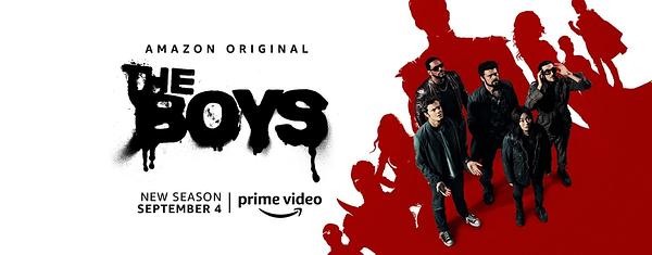 The Boys returns on September 4 (Image: Amazon Prime)