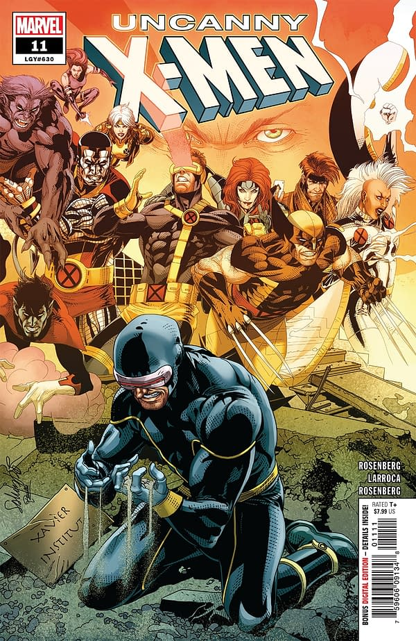 Darkness Shrouds the Returns of Cyclops and Wolverine [X-ual Healing 2-6-19]