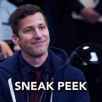 Andy Samberg stars in Brooklyn Nine-Nine, courtesy of NBC.