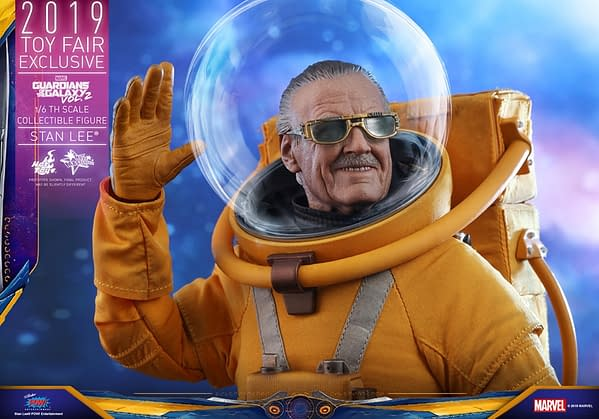 Stan Lee Becomes The Watcher With New Hot Toys Figure