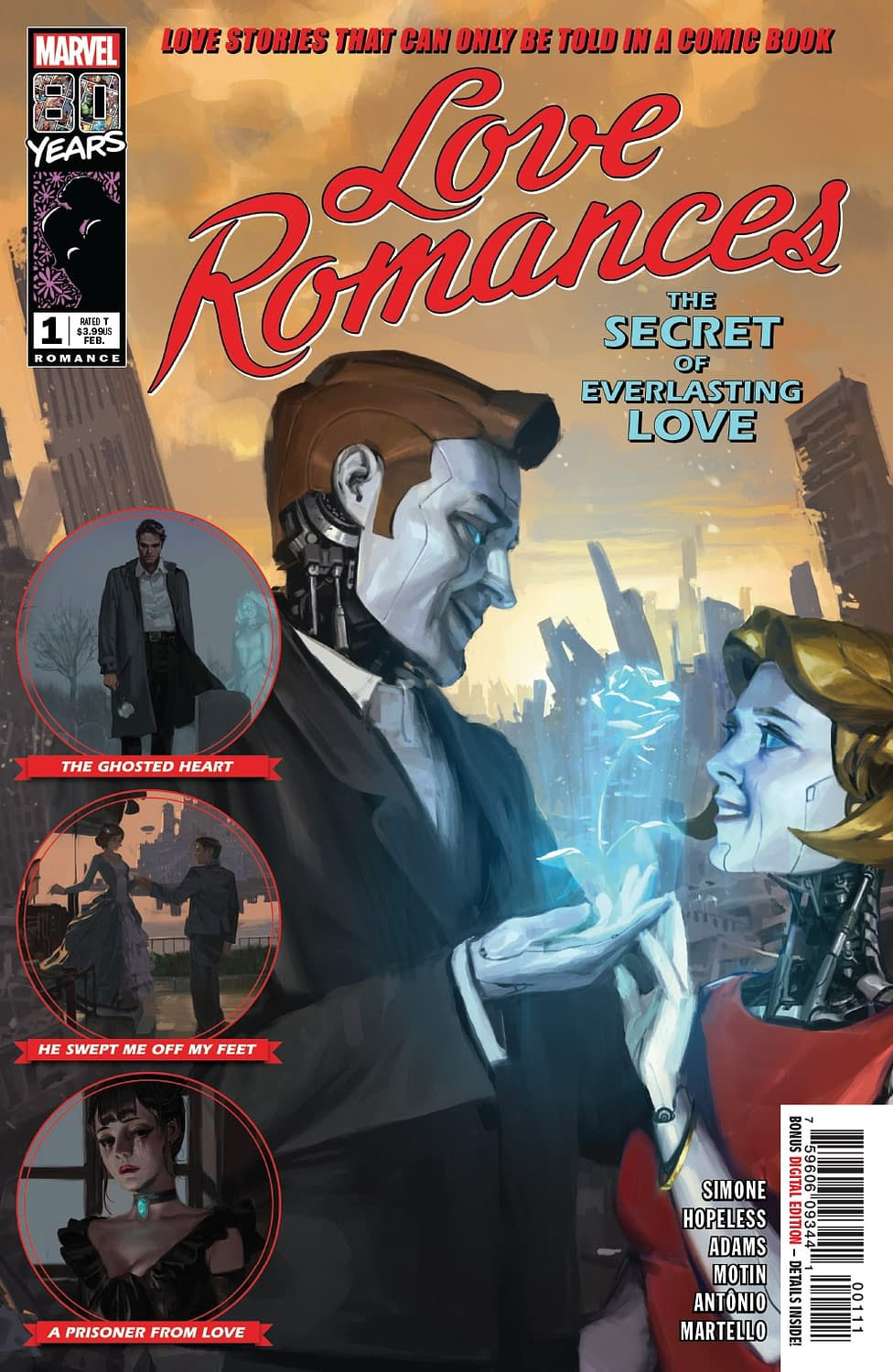 Robotic Castration as a Solution for Sexual Harassment in Next Week's Love Romances #1 (Preview)
