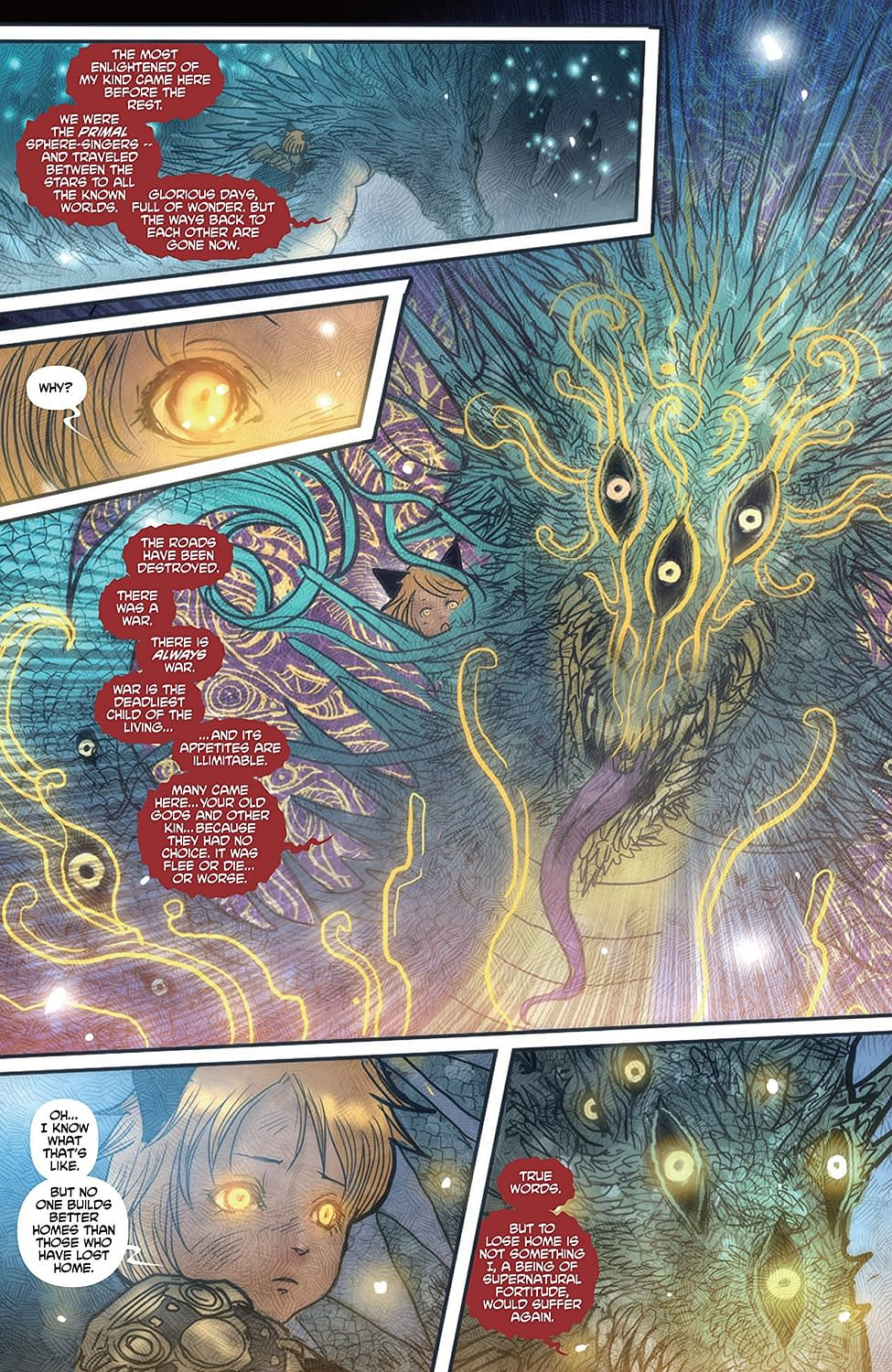 'Monstress' #22: Kippa Makes a Big New (Scary) Friend!