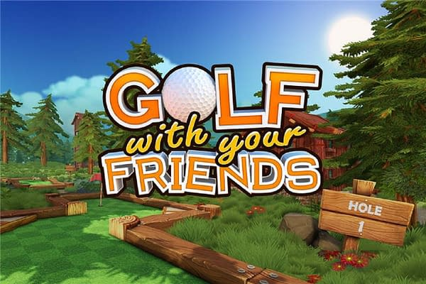 Now you can Golf With Your Friends, and rage when you lose.