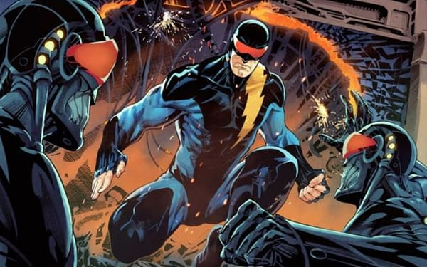 Mike Baron Writes a New Nexus Comic With Richard Meyer.