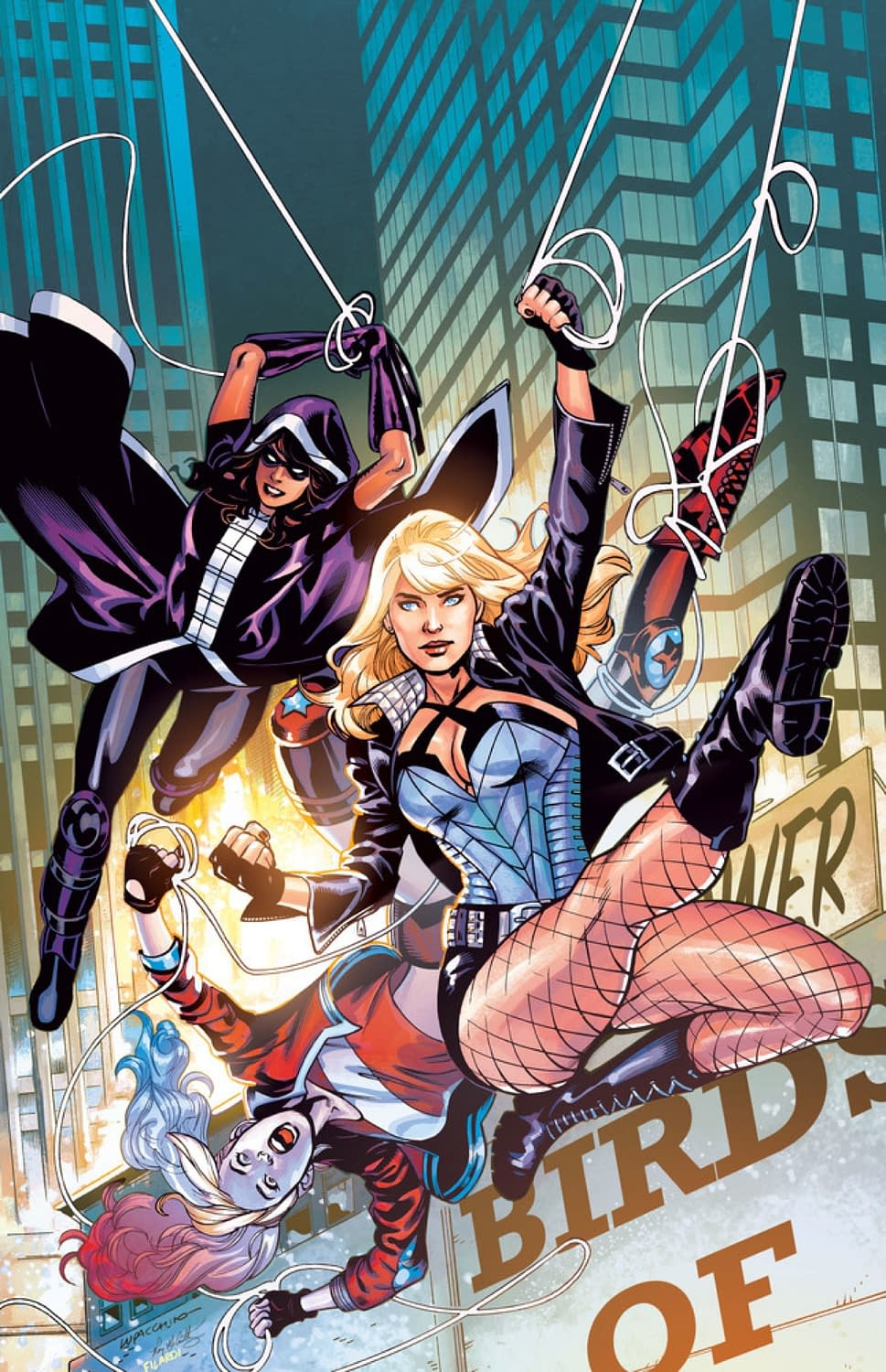 DC to Launch New Birds of Prey Book Book Starring Harley Quinn