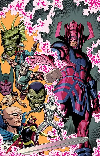 Fearless #1 Main Capa Foto Stock Marvel 2019