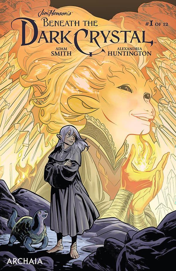 Jim Henson's Beneath the Dark Crystal #1 cover by Benjamin Dewey