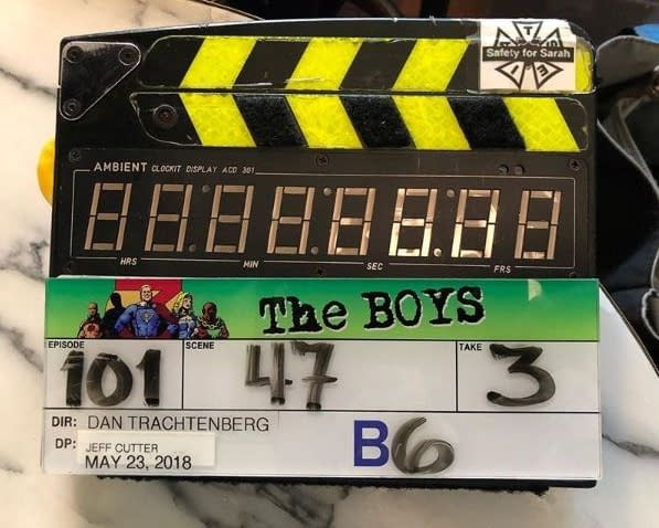 'The Boys' Update: Late-Night Shoots, Smack-Addicted Superheroes, Malcolm Barrett, and More