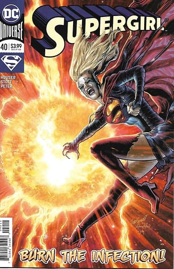 Supergirl #40 Main Cover