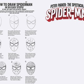 Chip Zdarsky Teaches You How To Draw Spidey&#8230Kinda