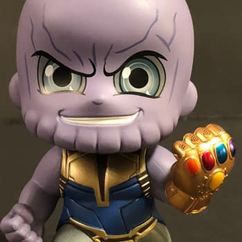 Hot Toys Cosbaby Thanos 7