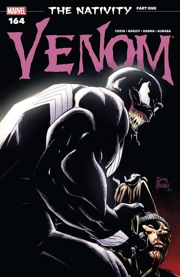Venom #164 cover by Ryan Stegman