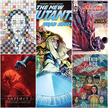 Comics for Your Pull Box, Week of 03/14/18