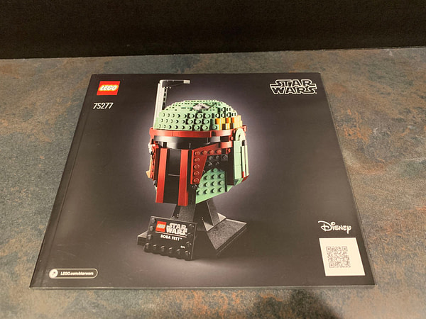 Collection de casques LEGO Star Wars 3
