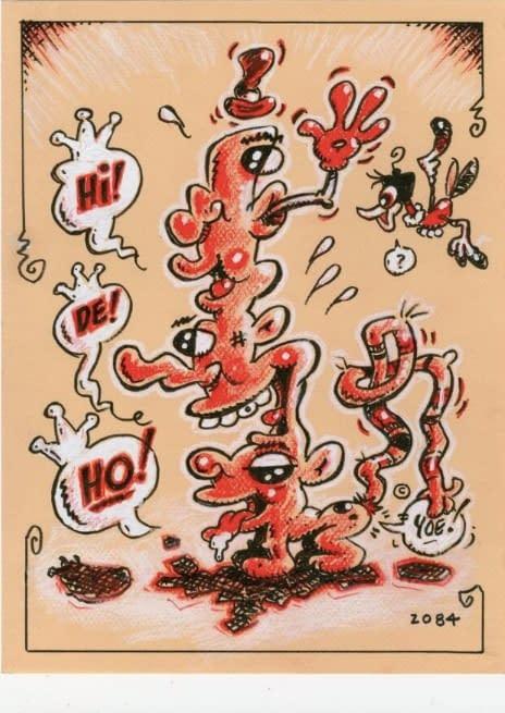 Craig Yoe Auction's Off Piece of Original Art to Help Hi De Ho Comics