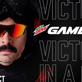 Dr Disrespect Partners Up With MTN DEW GAME FUEL