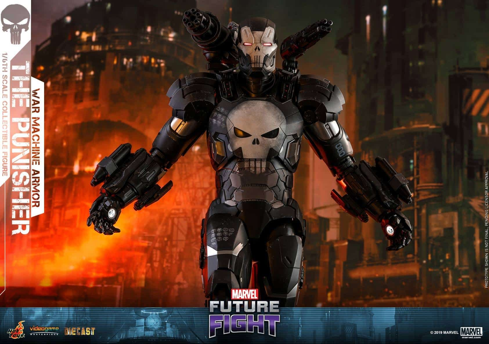 Marvel Future Fight War Machine Punisher 11