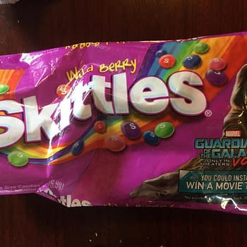 Nerd Food: Guardians Of The Galaxy Gamoras Wild Berry Skittles Pack A Punch
