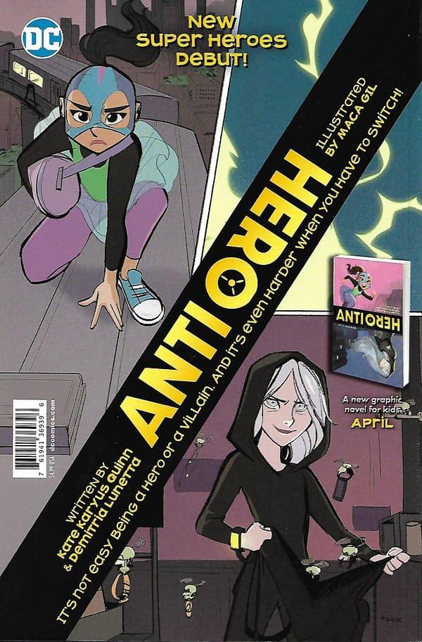 Teen Titans Go! / DC Superhero Girls Giant #1 Mass Market Back Cover