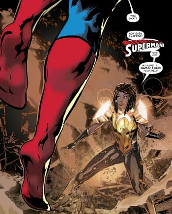 Naomi Comes Early to the Rest of the DC Universe (Spoilers)