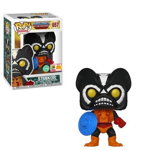 Funko SDCC Masters of the Universe Stinkor Scented Pop